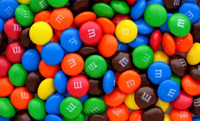 bomboane M&M